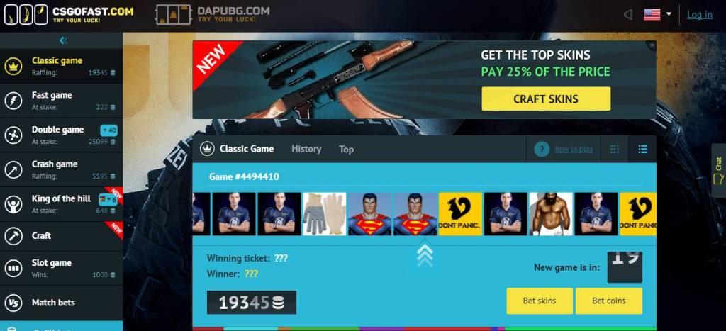 CSGOFAST.COM - CSGO Betting site