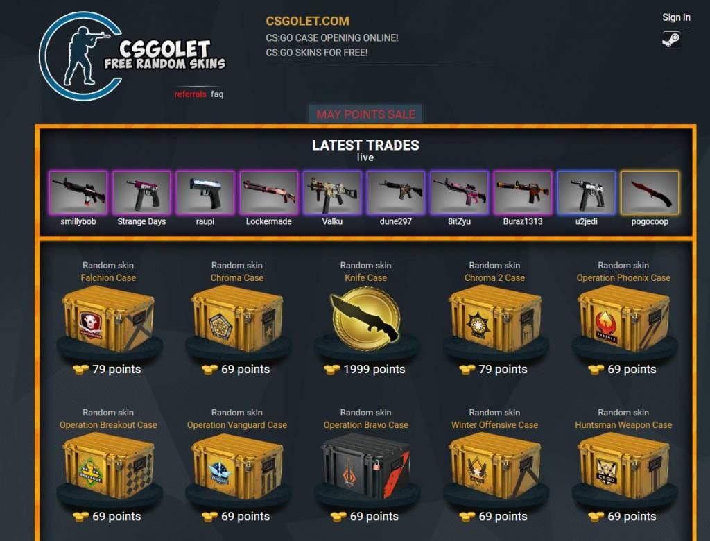 Free CSGO skins - Case Opening CSGOLet.com