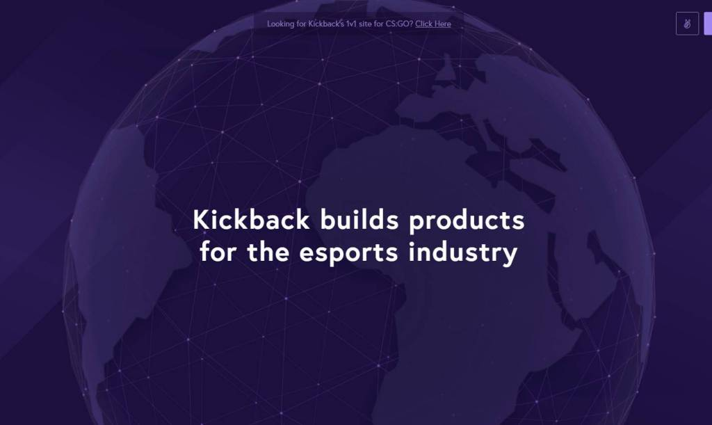 Kickback - CSGO Gambling site